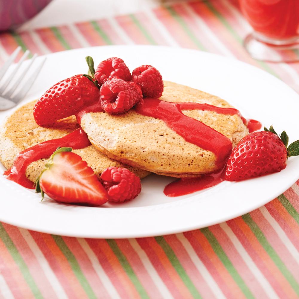Pancakes à l'avoine - Recette